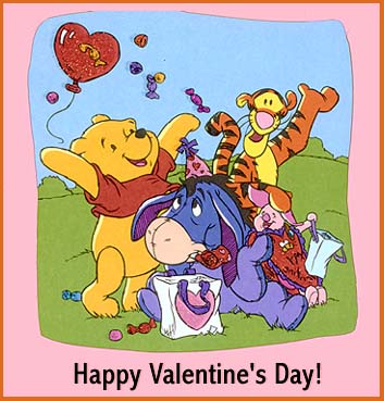 cardsmouse - winnie the pooh valentines 1, Ideas
