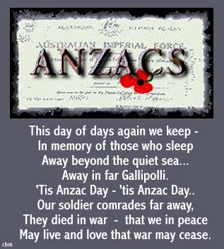 Cards By Mouse - Anzac Day