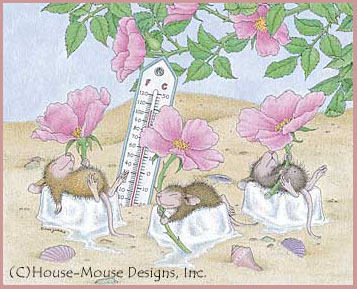 Cards By Mouse - House-Mouse Designs The Beach on house mouse christmas, house mouse design time, house cleaning services business cards,